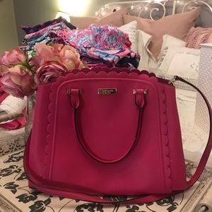 Kate spade scalloped purse